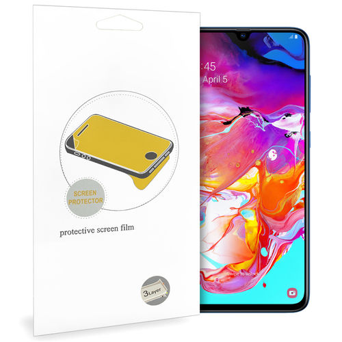 (2-Pack) Clear Film Screen Protector for Samsung Galaxy A70